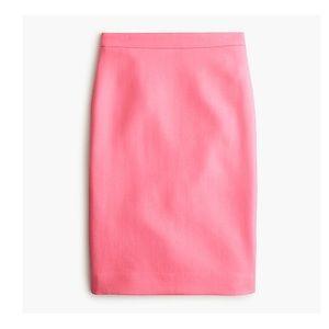 J. Crew No. 2 pencil skirt double-serge wool 03216